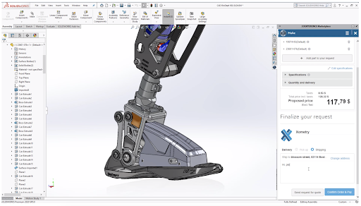 SOLIDWORKS's new and improved design interface