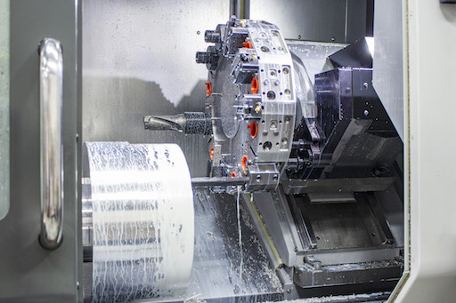 A live tooling lathe can reduce total number of machining setups