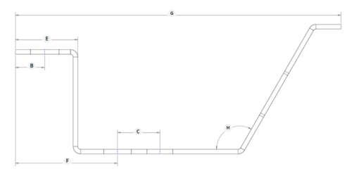 Multiple Sheet Metal Surface Bends