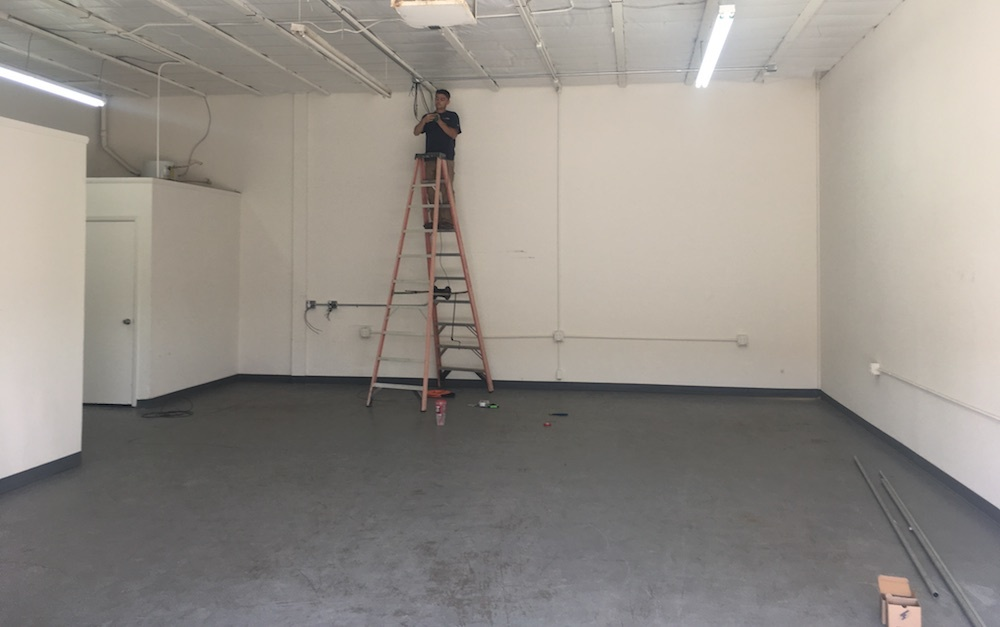 Todd White Metal Works's new shop space