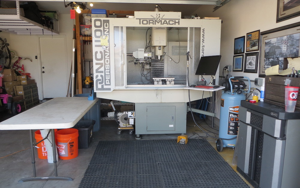 The Beginnings of Todd White Metal Works Machine Shop
