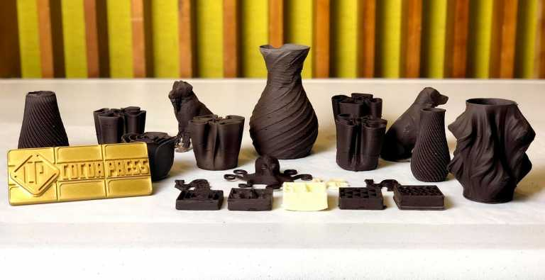 Case Study: the First Commercial 3D Chocolate Printer
