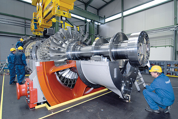 Siemens Sgt50800h gas turbine