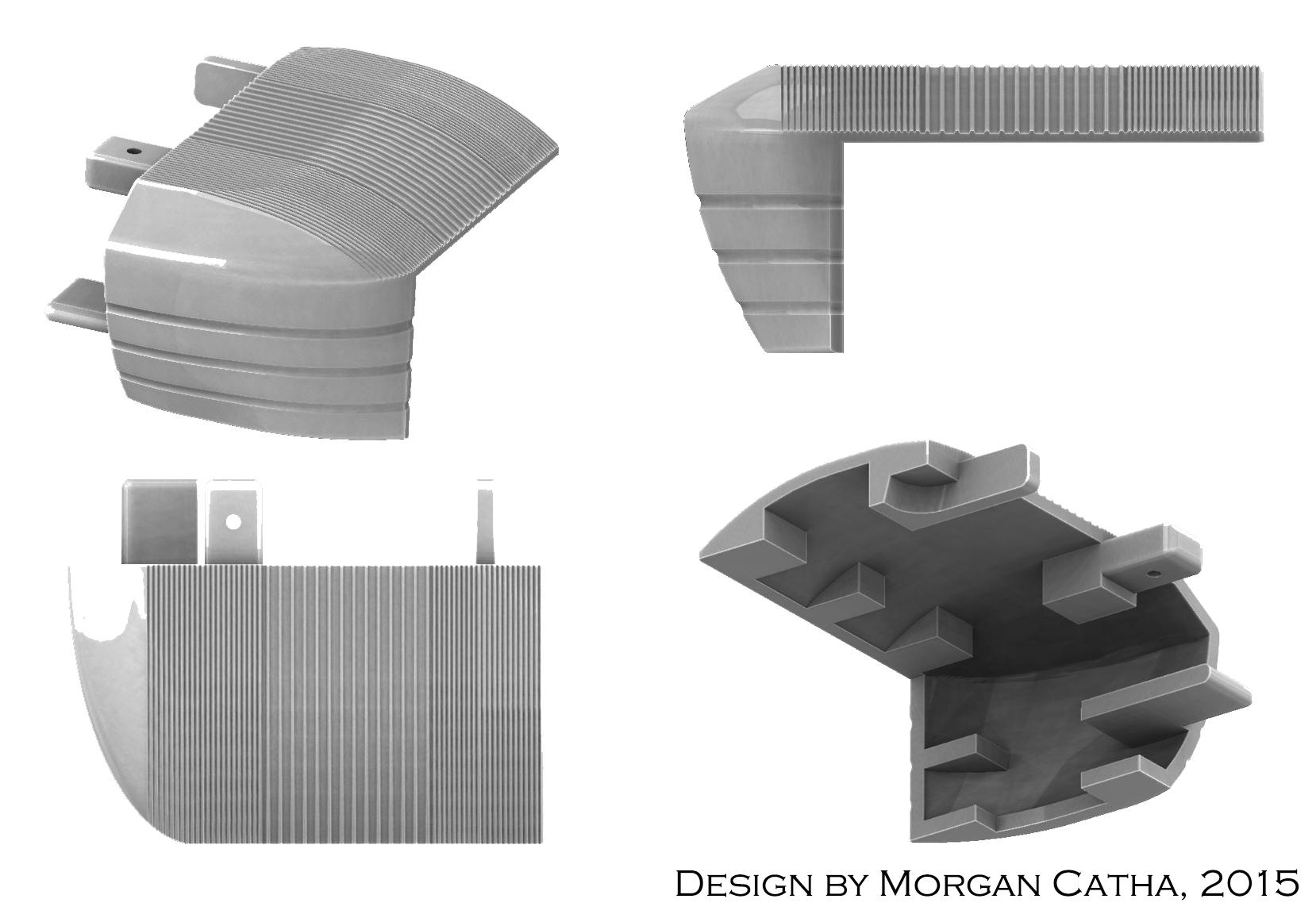 SLS 3D printing prototype