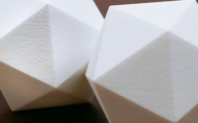 SLS 3D printing - media tumbled