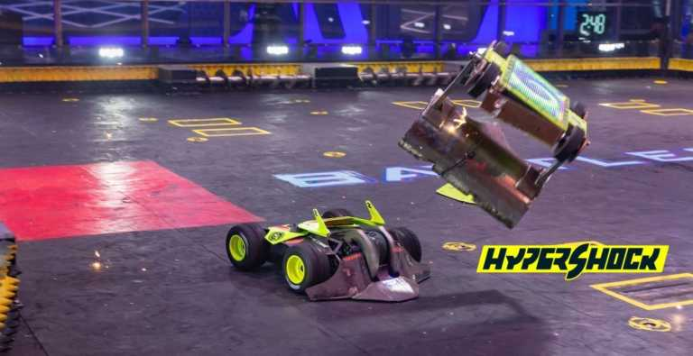 BattleBots Team HyperShock Prepares to Dominate the Battle Arena With Purpose-Built Xometry Parts