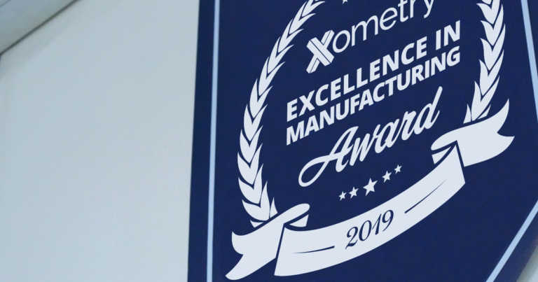 Xometry Announces Recipients of the 2019 Excellence In Manufacturing Awards